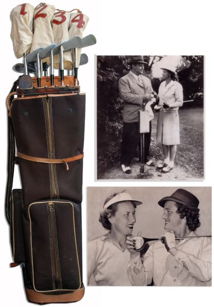 Babe Didrikson Zaharias Personally Owned Golf Clubs Used in the Tam O'Shanter Tournaments -- Named Female Athlete of the 20th Century by the Associated Press
