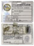 Nick Nolte Screen-Used Prop ID Card From Hulk