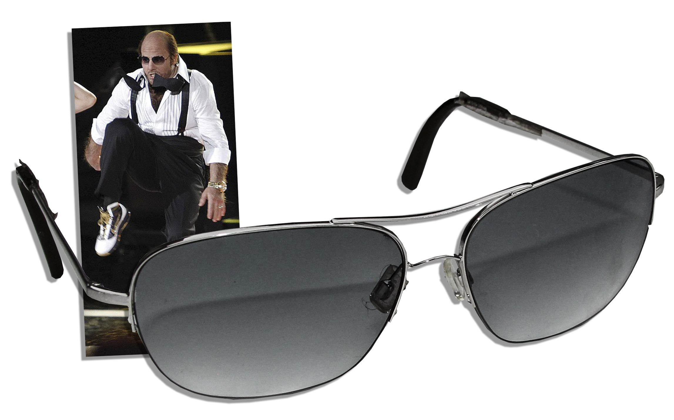 Lot Detail - Tom Cruise Production Used Hummer Sunglasses ...Tom Cruise Tropic Thunder Dance Scene