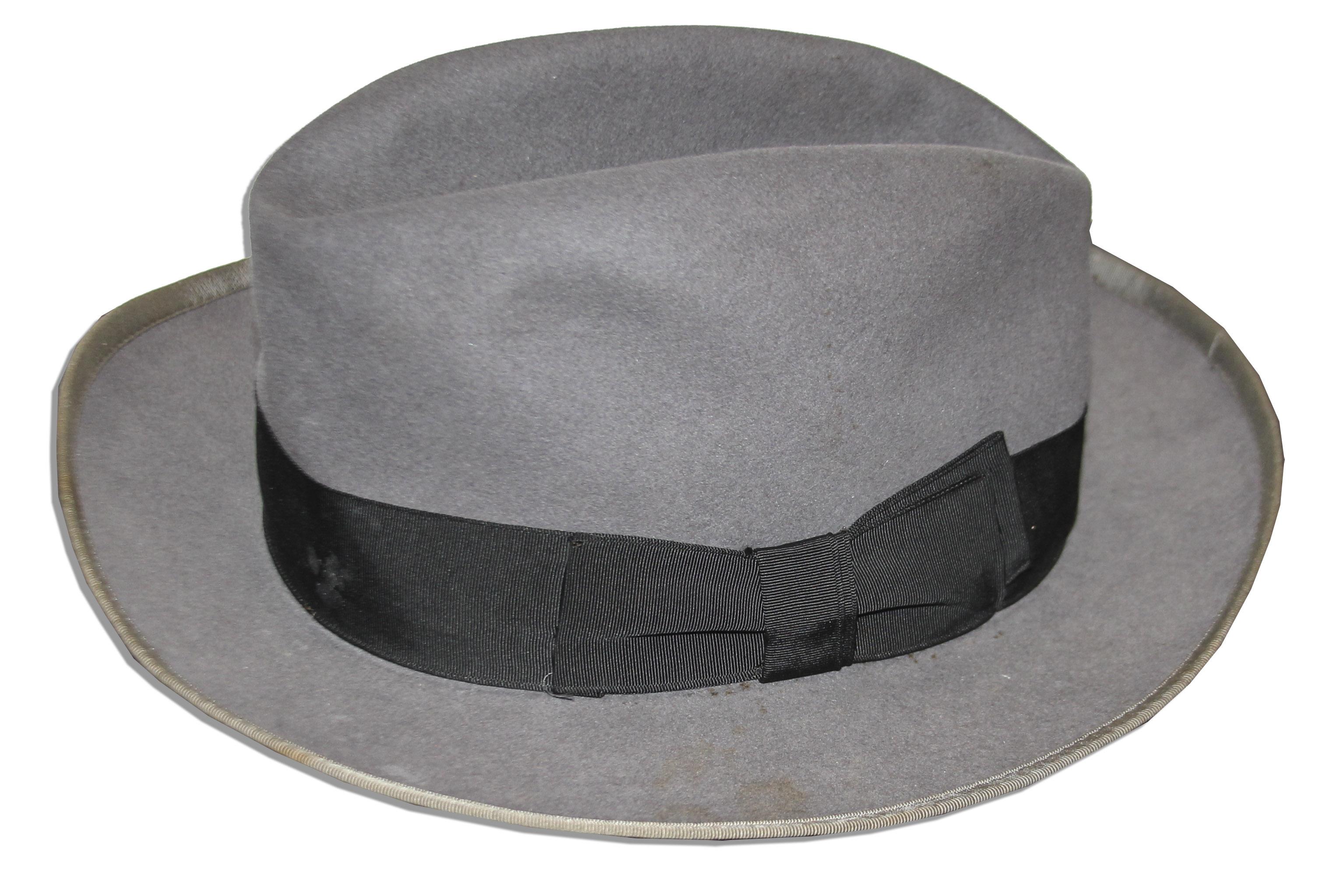 Marlon Brando Stetson Hat From His Role as Vito Corleone in   The Godfather  bf9a7f2fb88