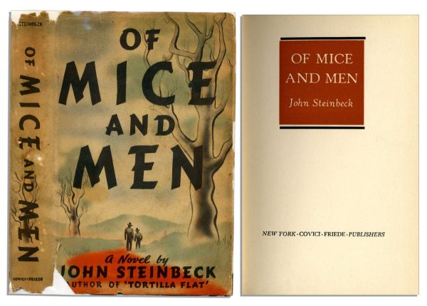 an analysis of of mice and men a novella by john steinbeck Studying for a test or a class review on of mice and men review these quotes to help with your analysis of john steinbeck's classic tale.