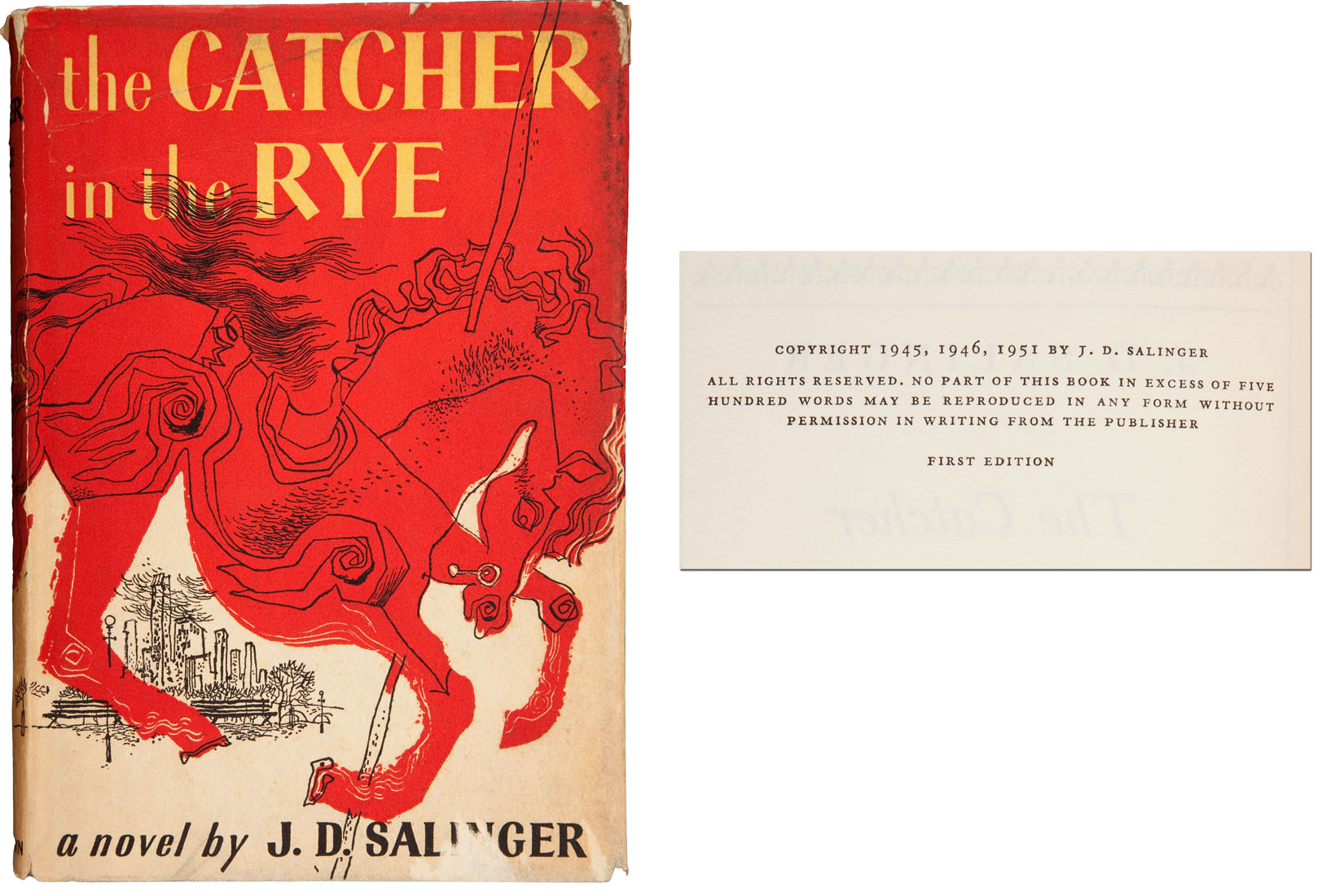 a literary analysis of the catcher in the rye by j d salinger Literary legend and influential 20th century american writer jd salinger wrote the timeless novel catcher in the rye  learn more at.