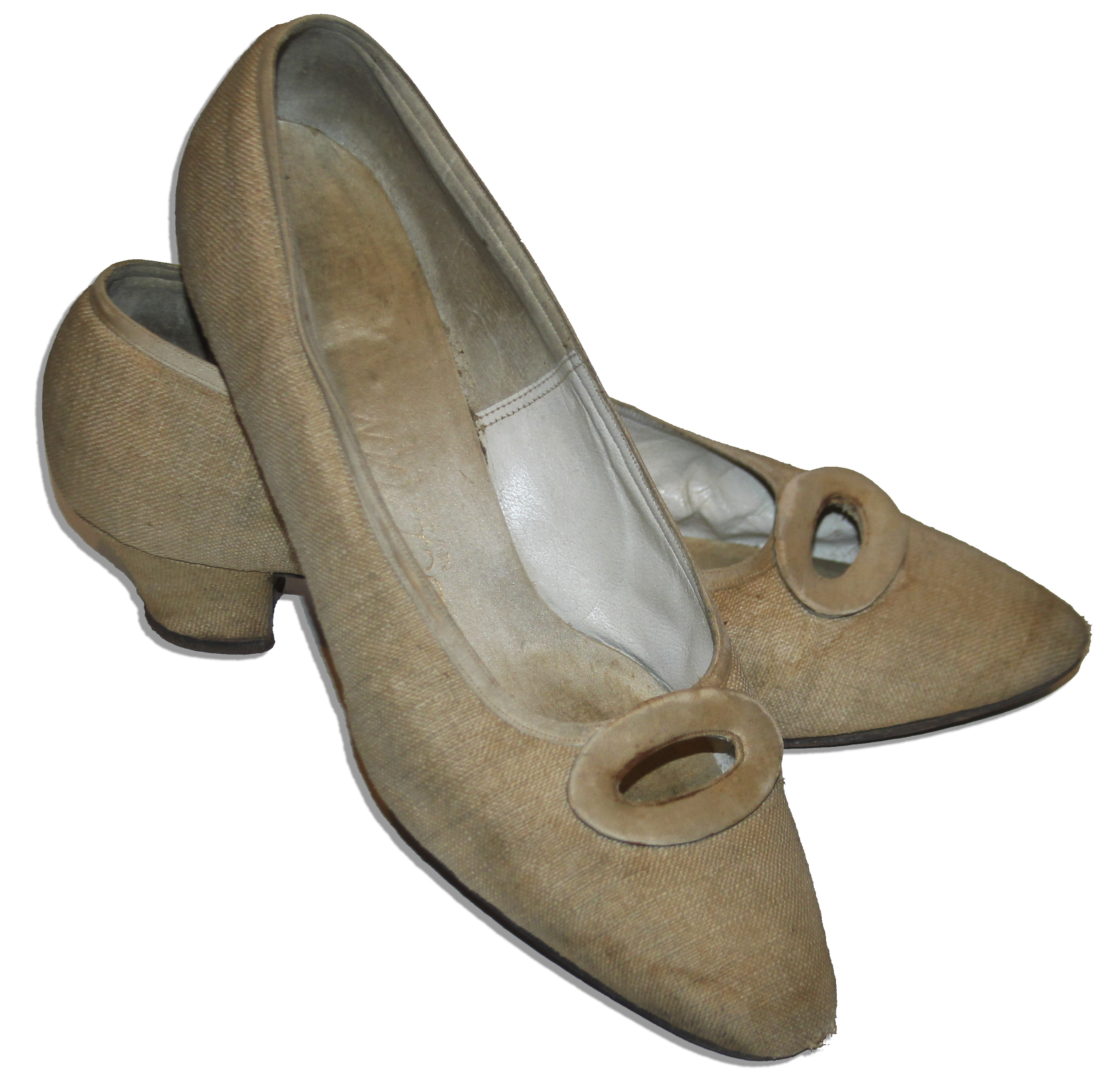 Jackie Kennedy Personally Owned Worn Delman Shoes