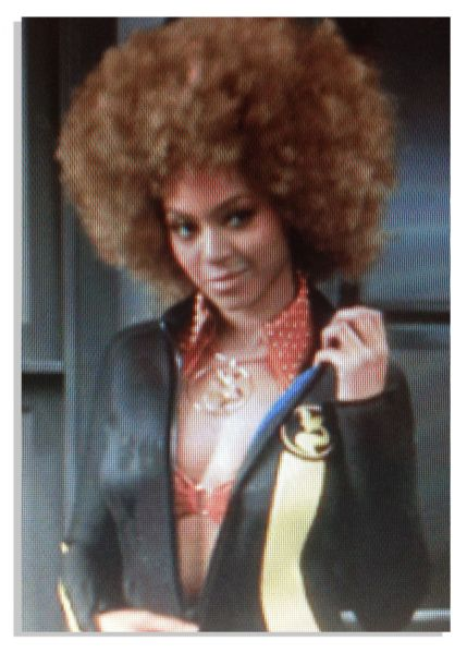 Edward Scissorhands prop Beyonce's Custom Wetsuit Costume From ''Austin Powers in Goldmember'' -- With Wardrobe Tag