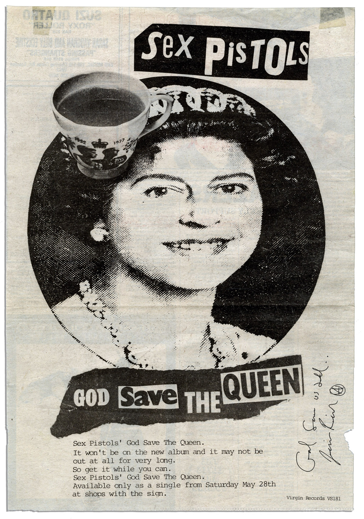 god save the queen sex pistols
