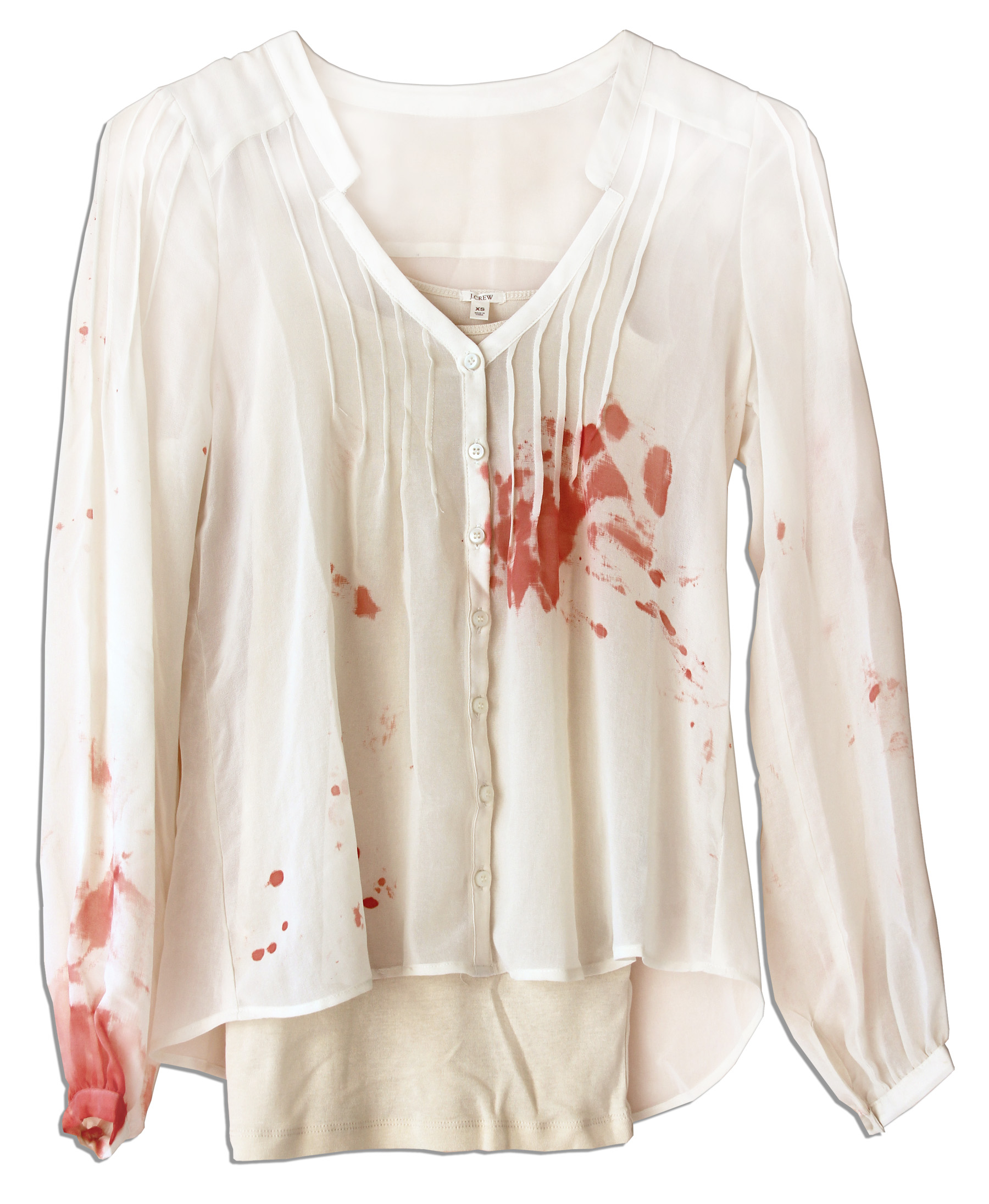 Wine Stained Blouse Anlis