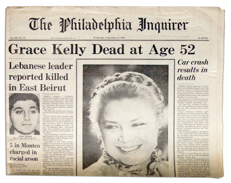 Grace Kelly Death Conspiracy Photos Lot Detail - Princess ...