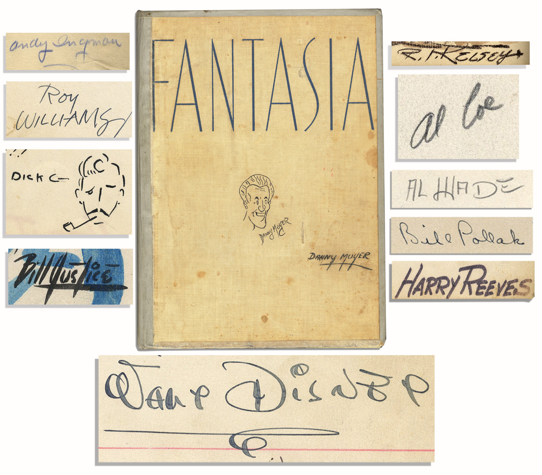 Free Appraisal For Your Walt Disney Autograph We Sold At