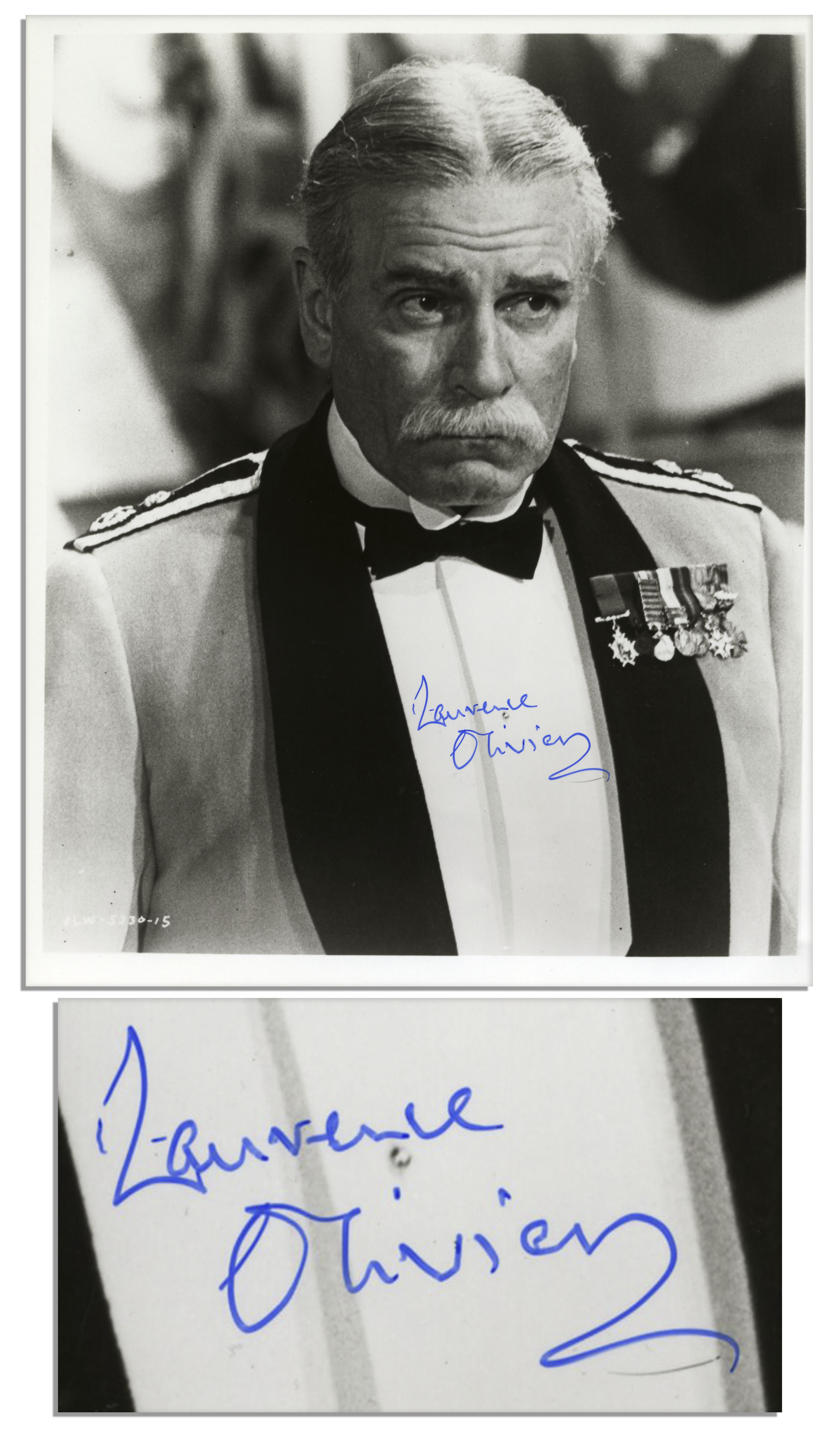 Lot Detail Sir Laurence Olivier Signed 8 X 10 Photo