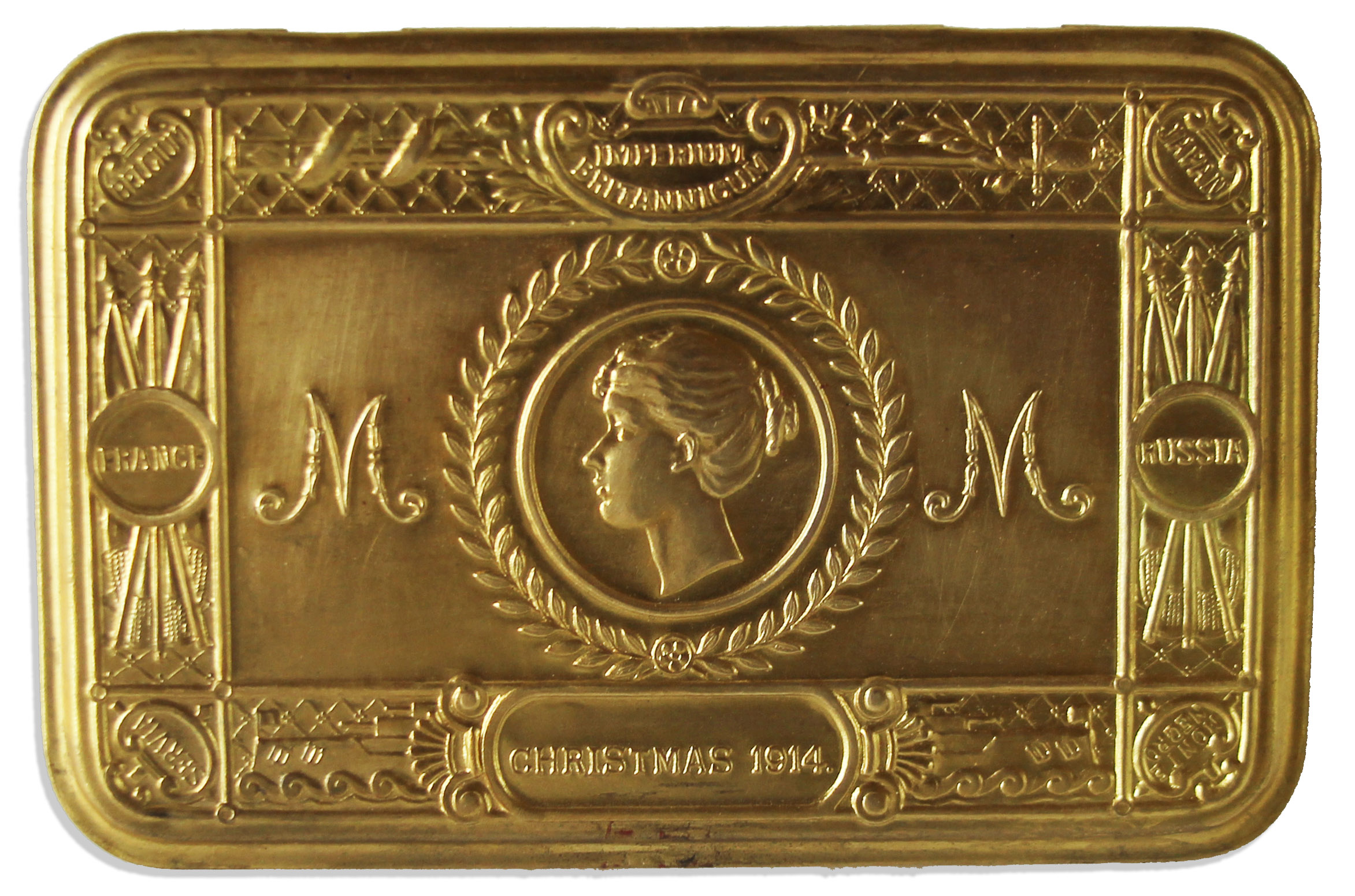 Lot Detail - Princess Mary\'s Christmas Gift To Servicemen During WWI ...