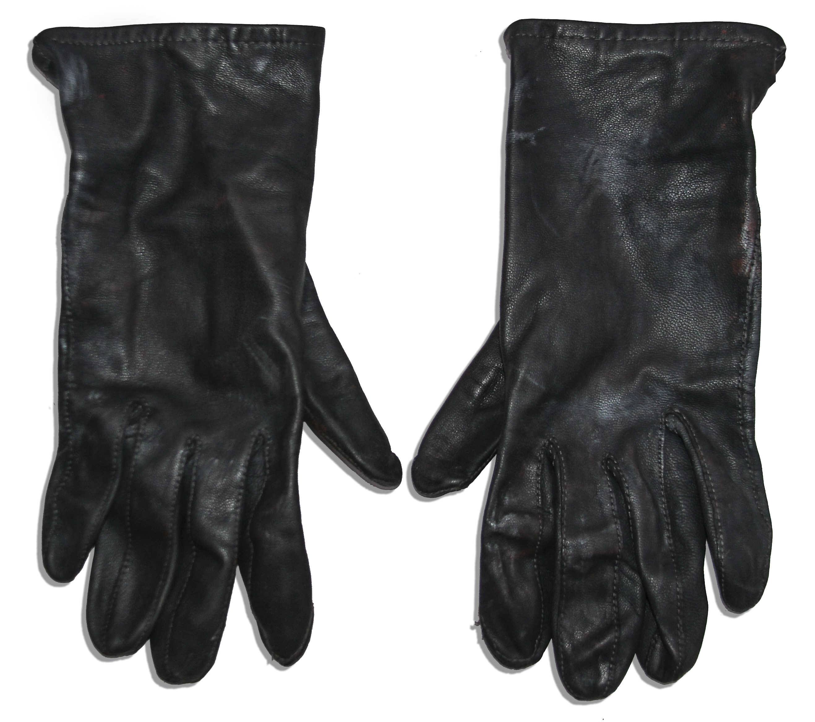 Claires black gloves -  Claire Danes Costume From Terminator 3 Rise Of The Machines