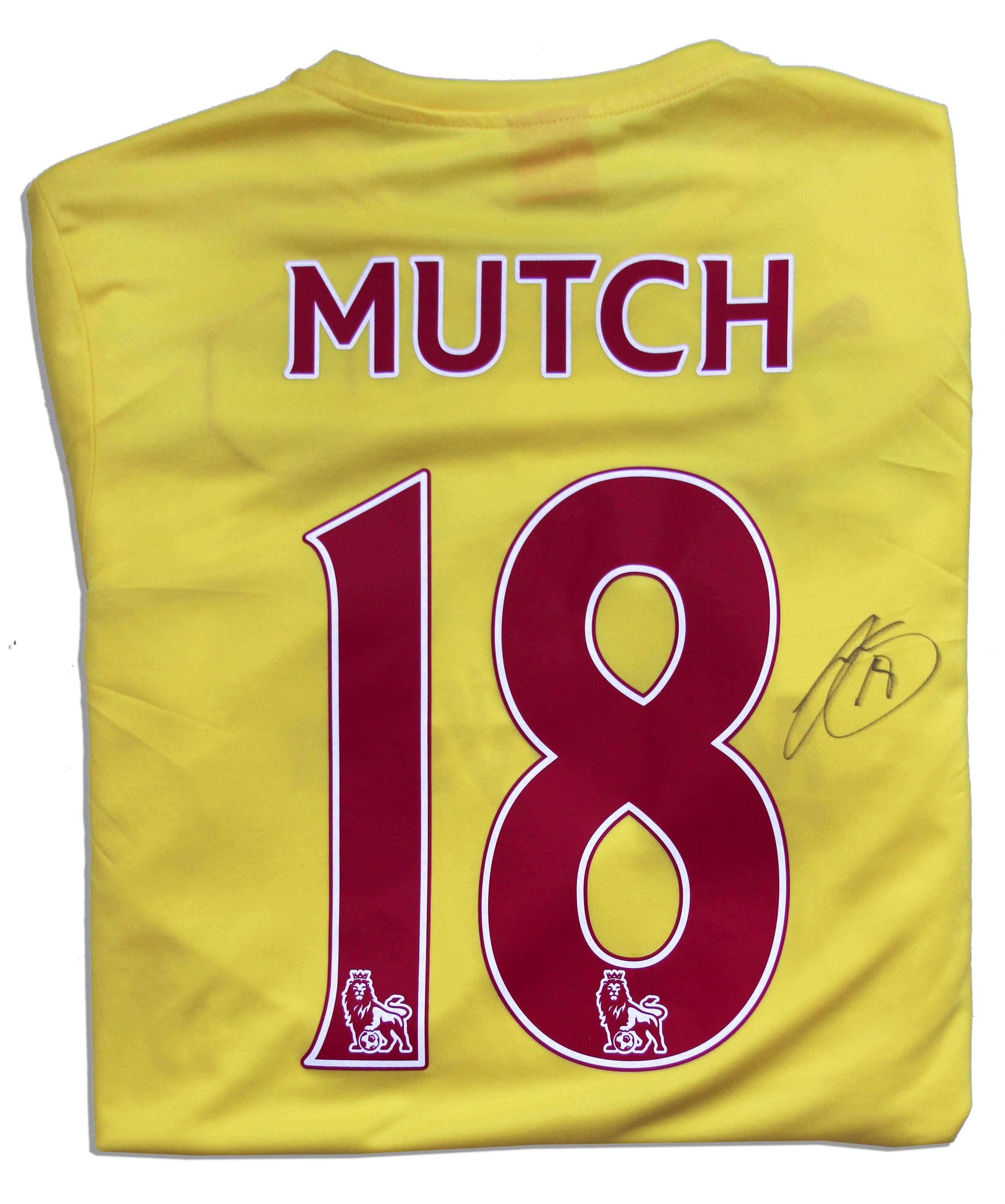 Lot Detail - Jordon Mutch Match Worn Cardiff City Football Shirt Signed dd8c2879e
