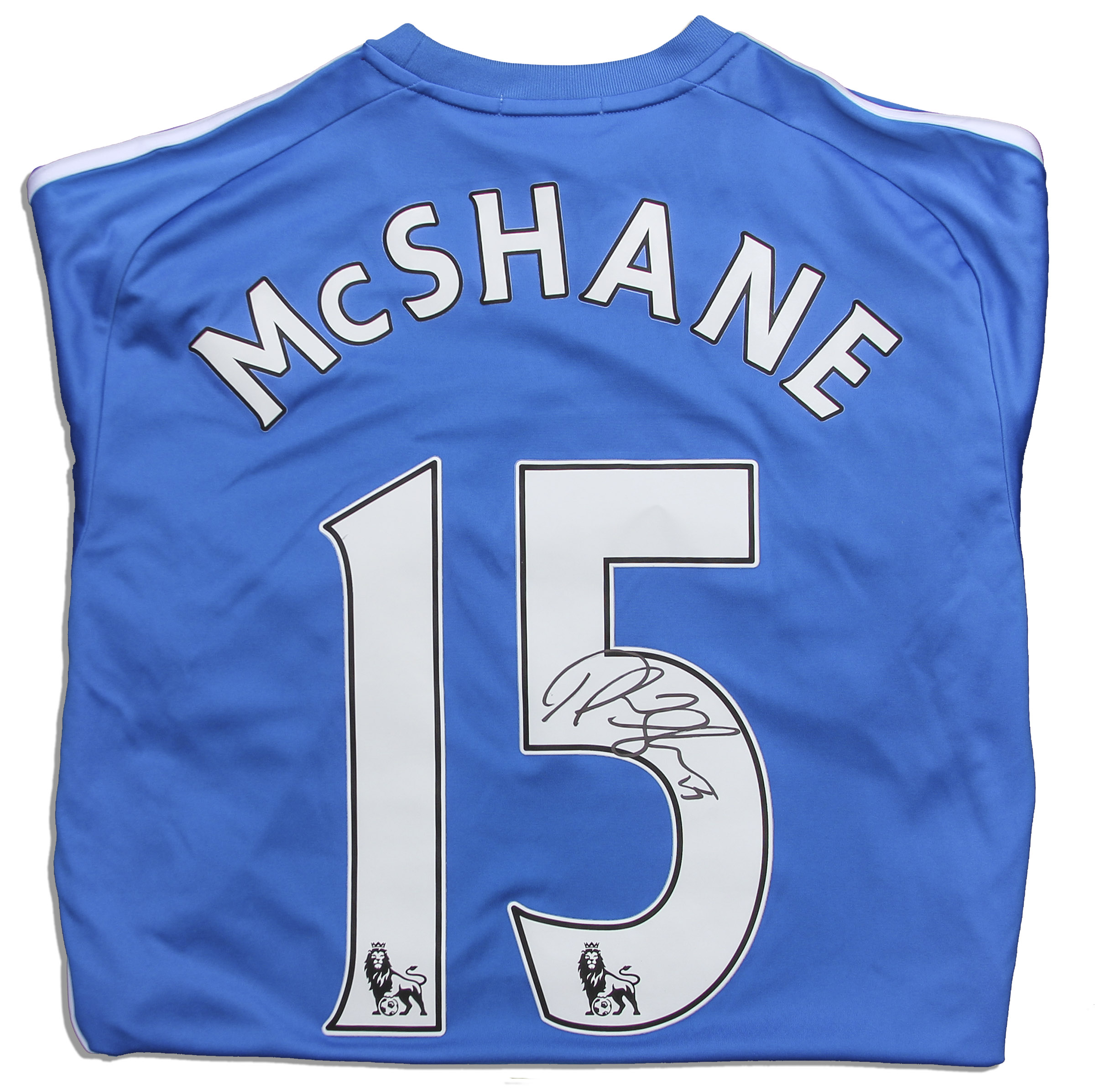 Lot Detail - Paul McShane Match Worn Hull City Football Shirt Signed 0e1ab162c