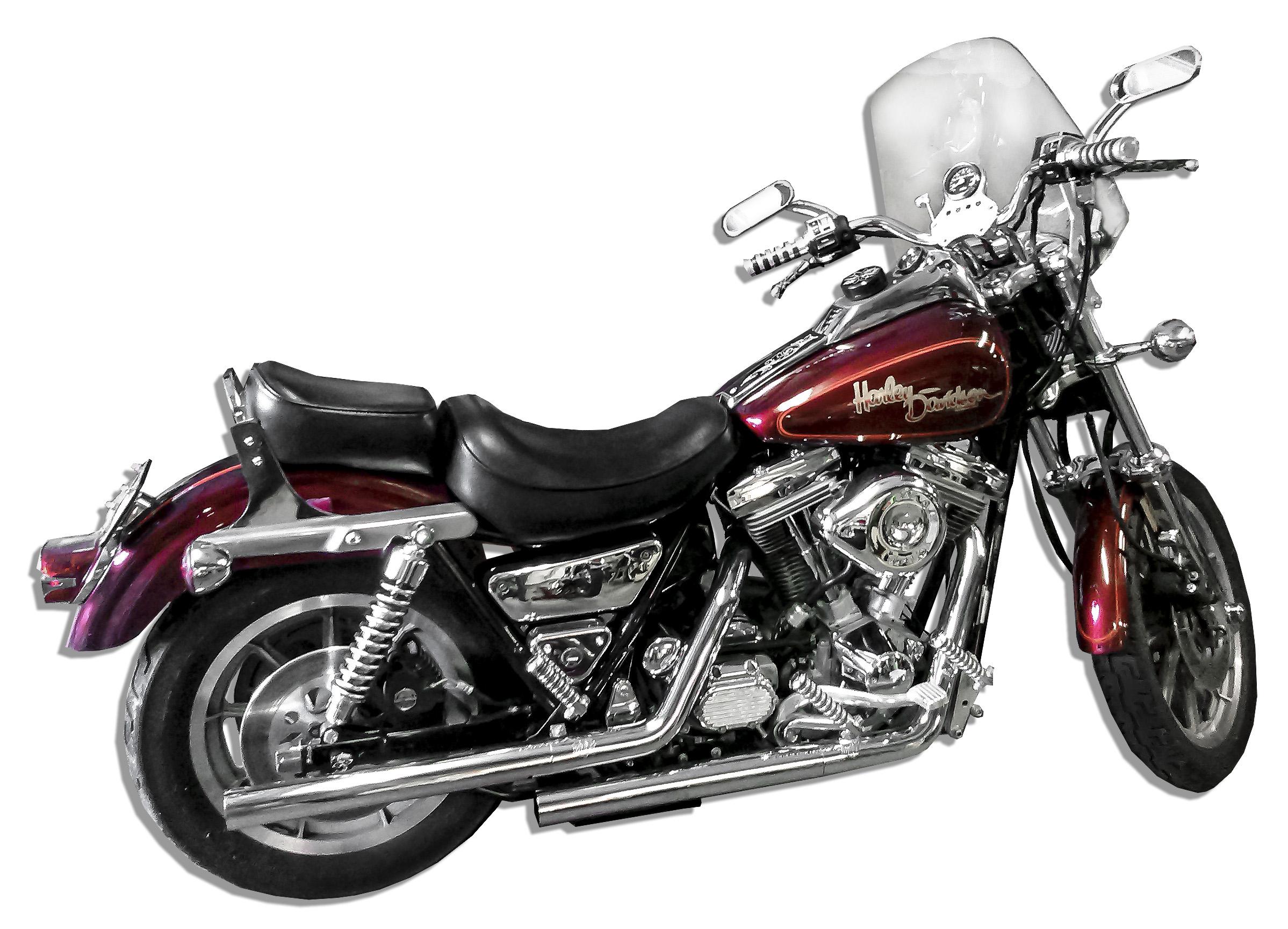 Lot Detail - Rare 1987 Harley Davidson FXR-SE -- Known For ...