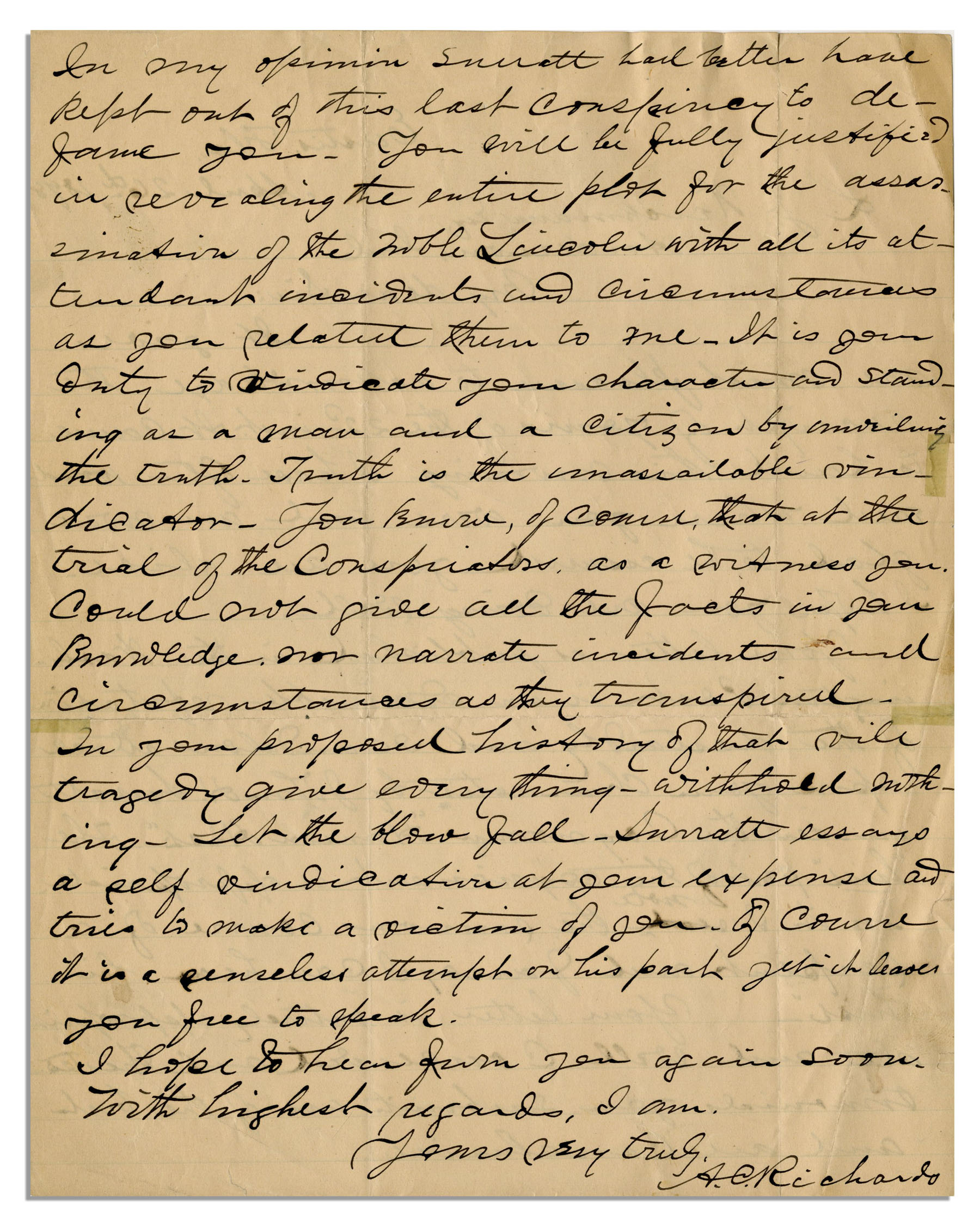 abraham trial essay Trial & tribulations: the matson slave trial of 1847 in oakland, il trial & tribulations in-depth search this site welcome program goals the story of the matson-bryant slave trial other accounts of the trial words the papers of abraham lincoln.