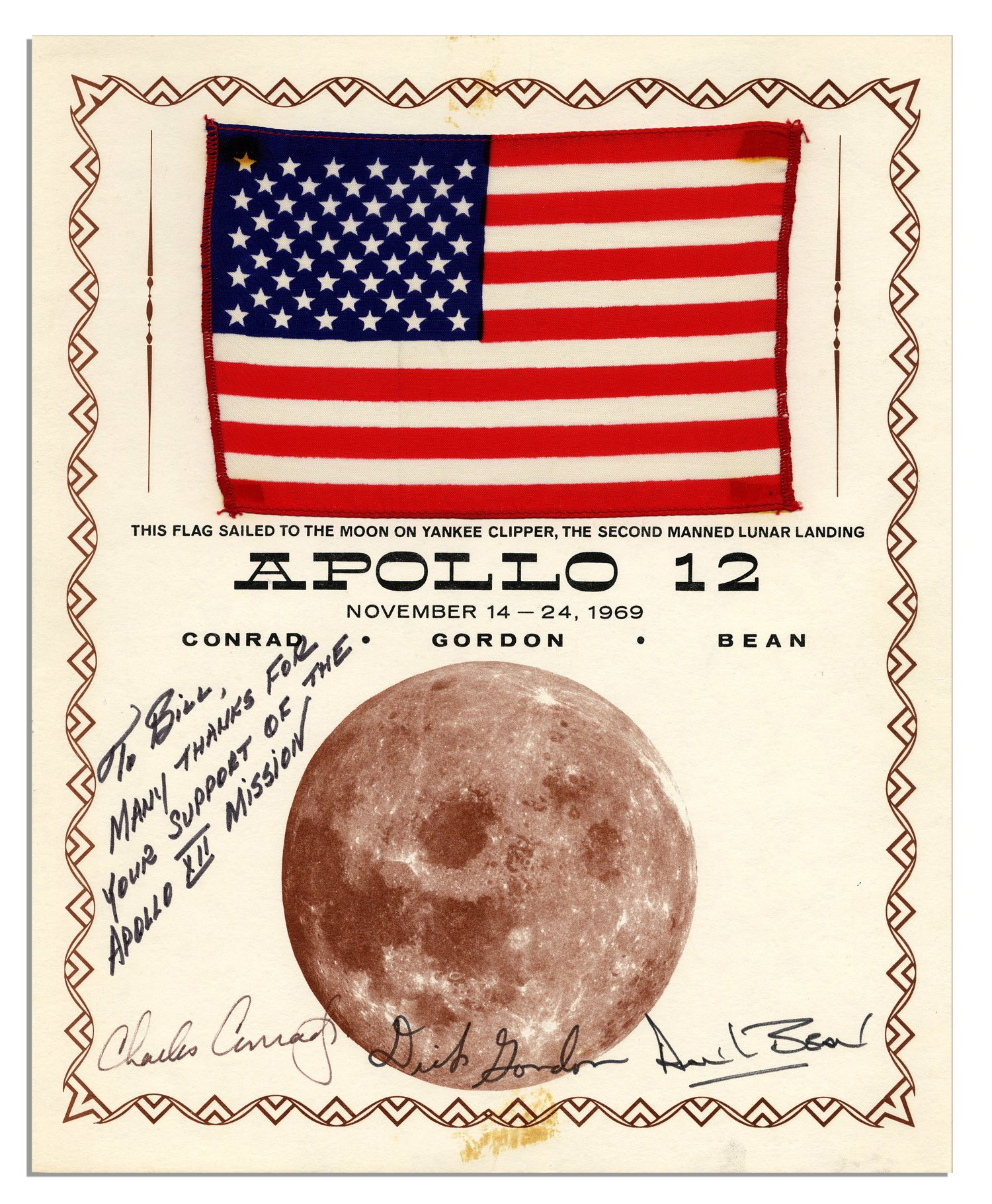 Apollo 12 Flown