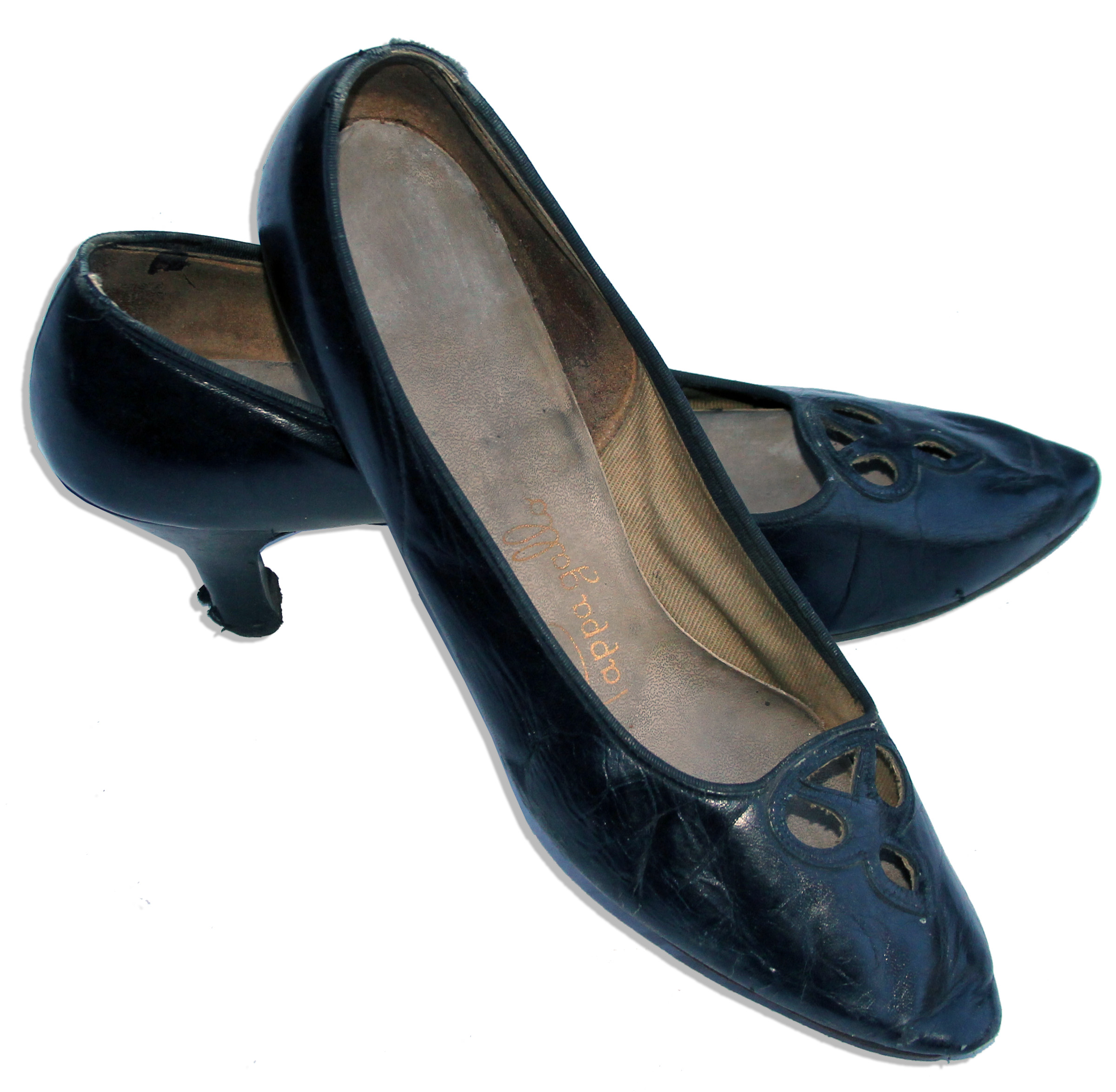lot detail jackie kennedy personally owned worn shoes