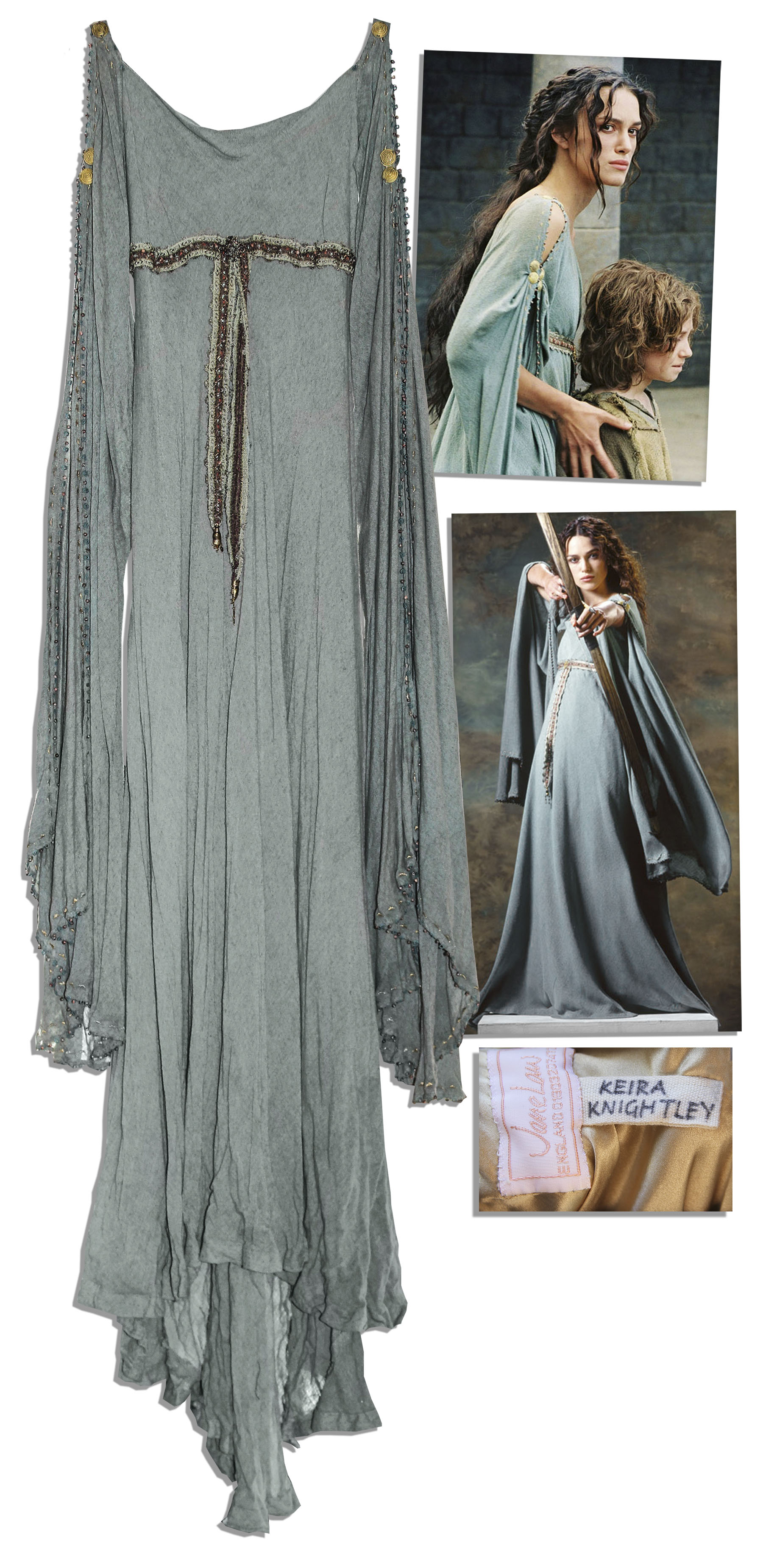 Lot Detail - Keira Knightley Hero Gown From \'\'King Arthur\'\'
