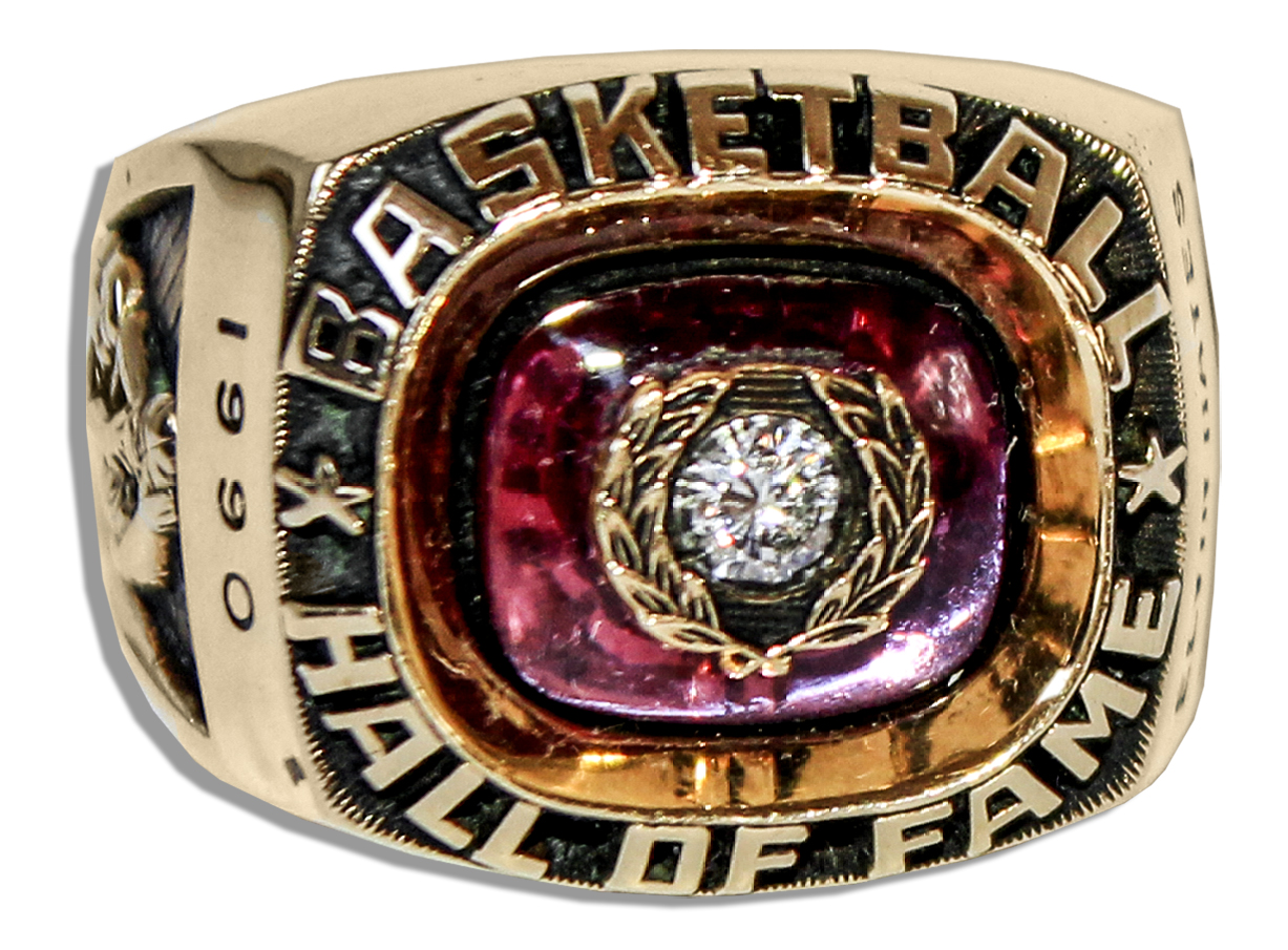 Lot Detail Elvin Hayes Hall of Fame Induction Ring Obtained