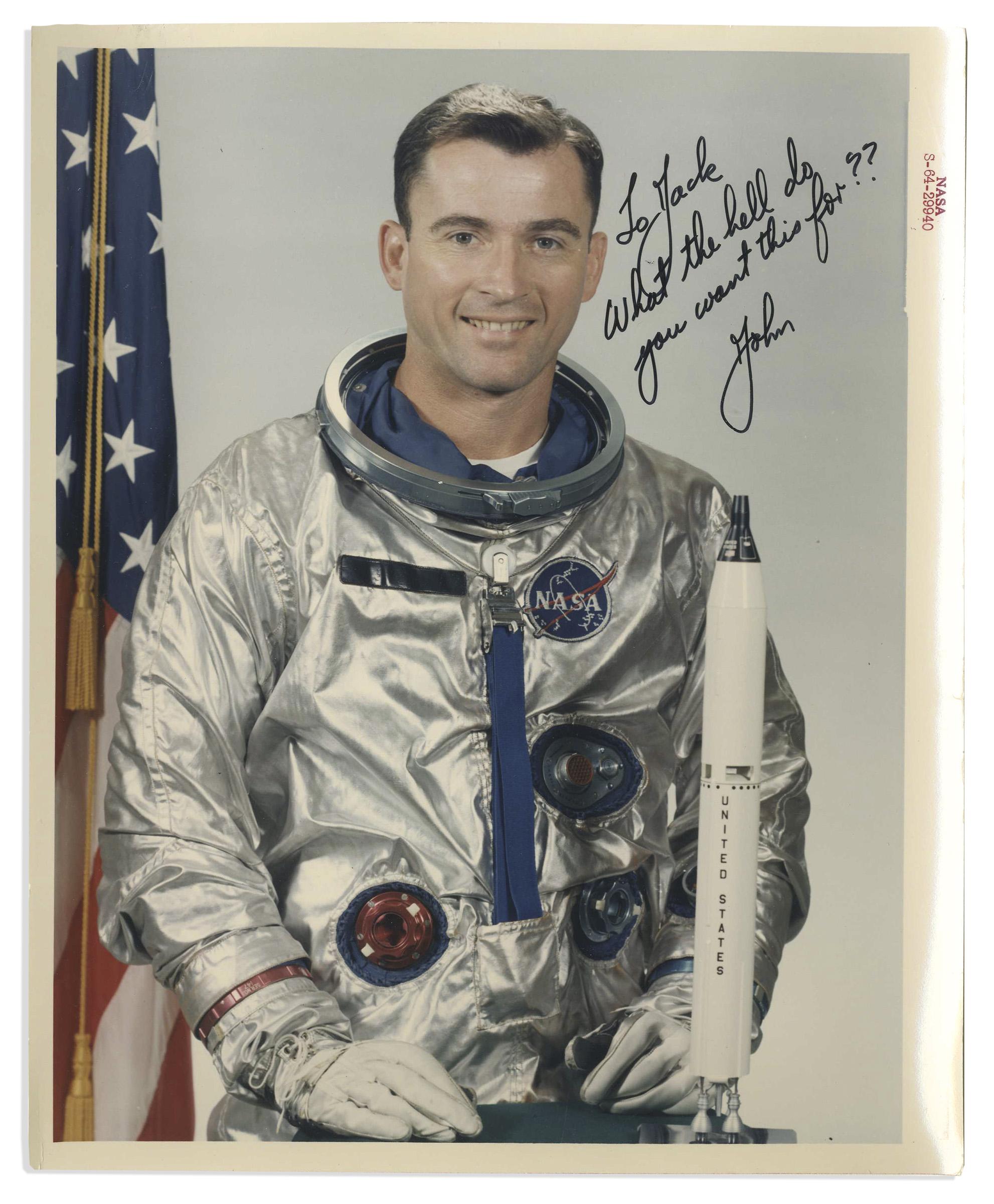 john young astronaut autograph - photo #3