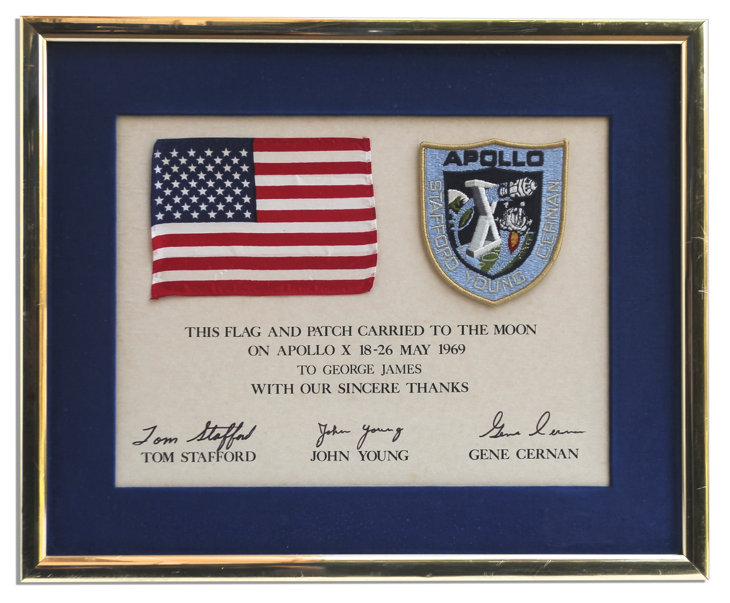 Apollo 10 Flown