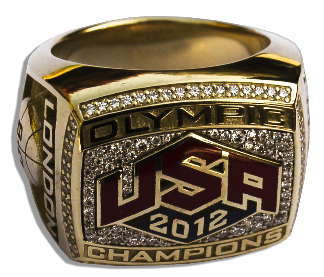 ... Olympics Gold Championship Ring Awarded to Women s Basketball Star  Teresa Edwards -- Where She Served ... 74d5204310