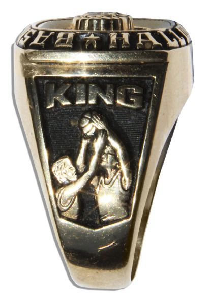 Bernard King's Basketball Hall of Fame Ring