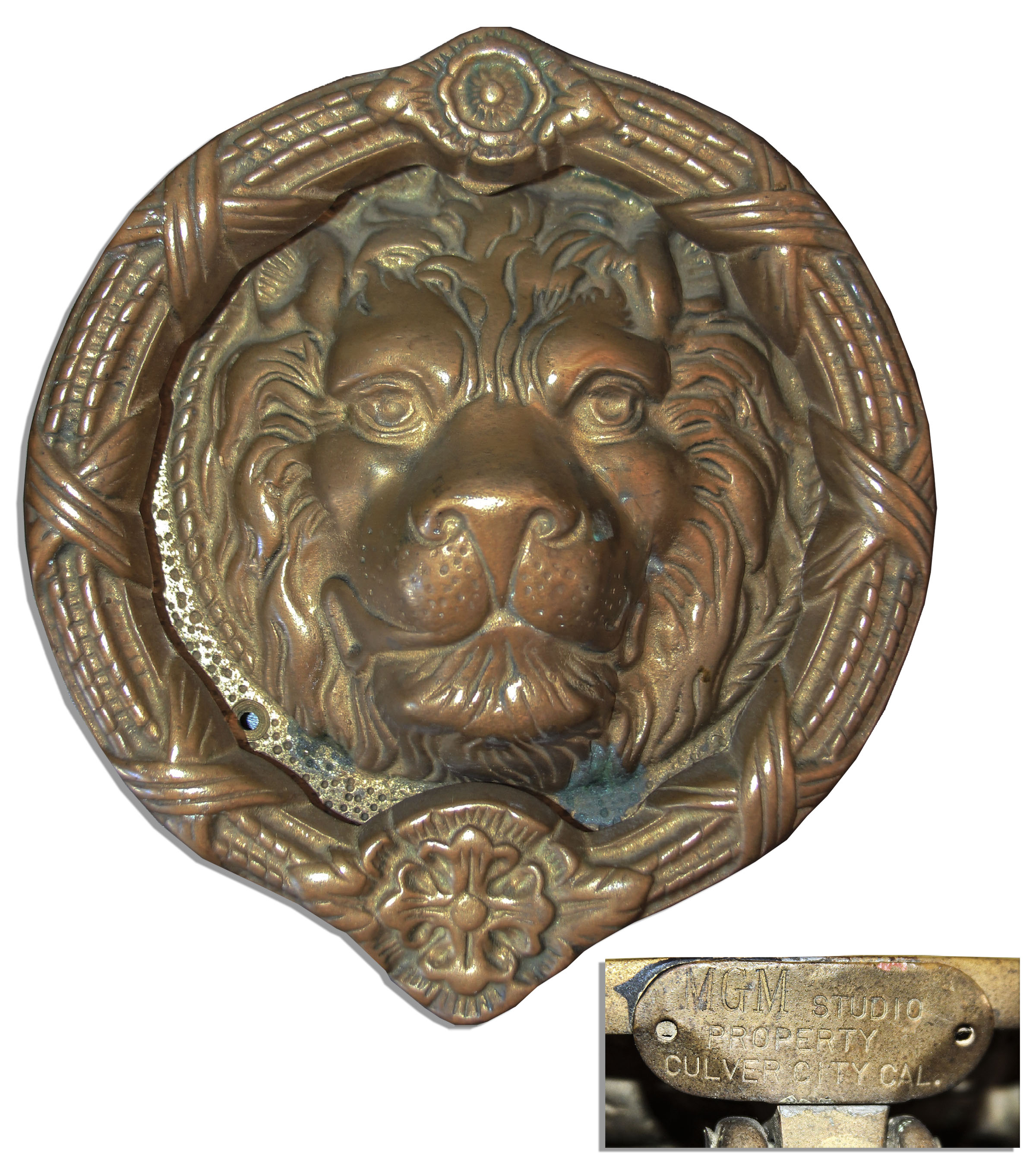 Exceptionnel MGM Door Knocker    The Iconic MGM Lion ...