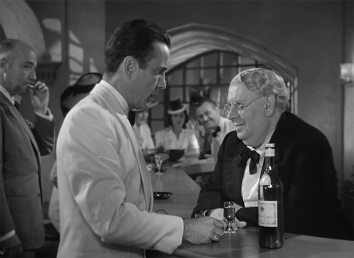 a film analysis of casablanca Film analysis  casablanca: a classic hollywood film with an un-classic  he is a jaded bar owner in casablanca who wears a dour expression as he drinks and plays.