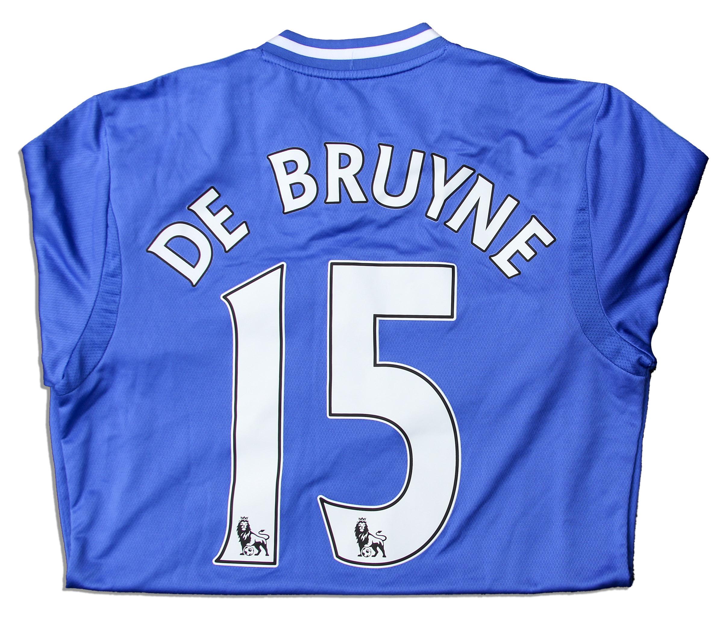 big sale 67f0b 3048a Lot Detail - Kevin De Bruyne Match Worn Chelsea Football ...
