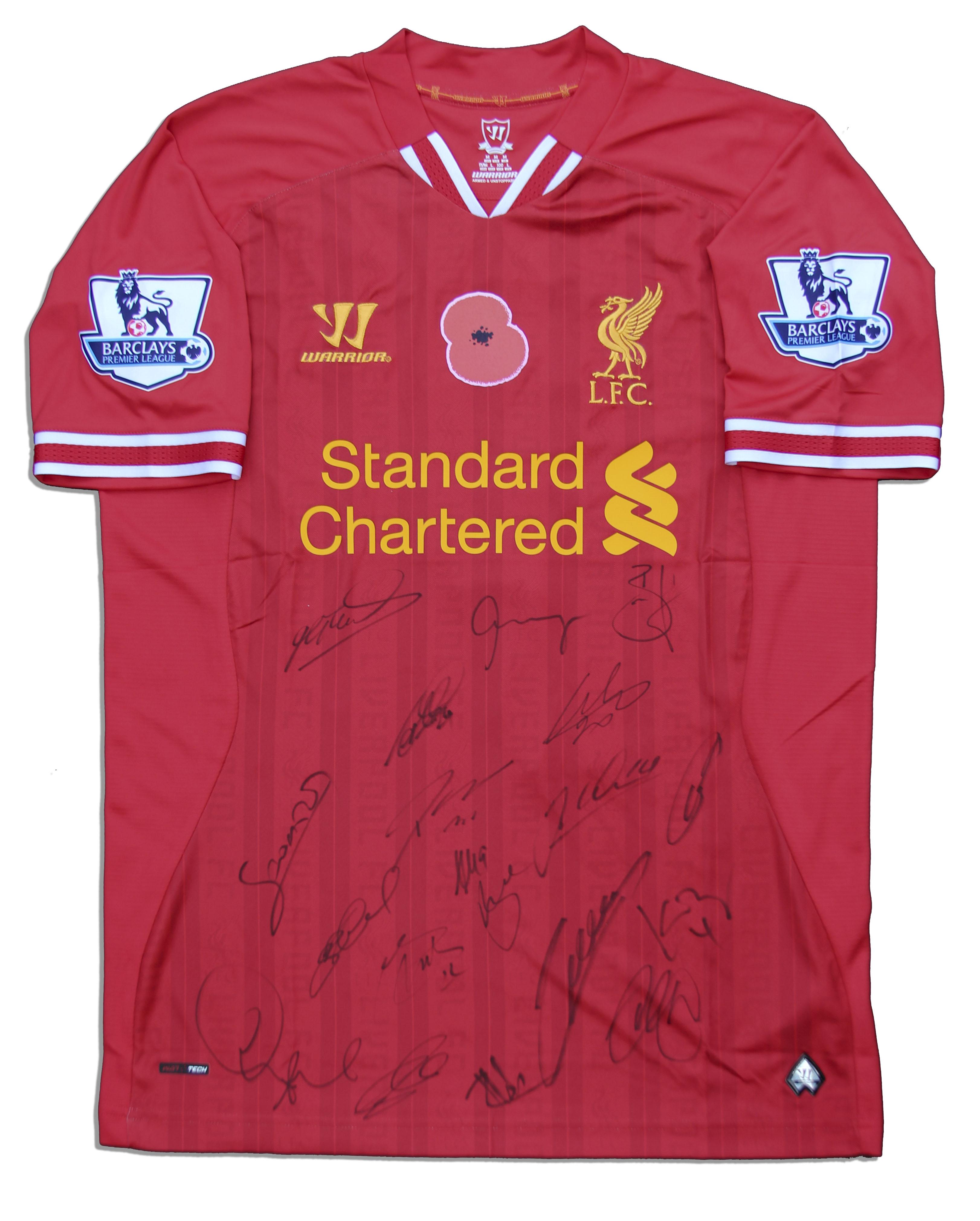 separation shoes 23478 55926 Lot Detail - Liverpool's Luis Suarez Match Worn Shirt ...