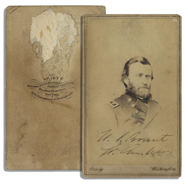 U.S. Grant Autograph