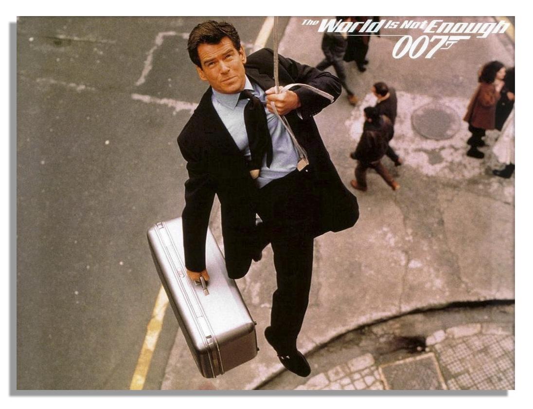 James Bond Brown Shoes