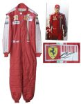 Formula One Champion Kimi Raikkonen Signed and Worn F1 Racing Suit