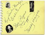 Signatures by Western Stars Roy Rogers, Dale Evans & Gabby Hayes -- Plus the Horse Trigger!