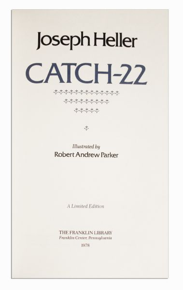 an interpretation of joseph hellers satire catch 22 Behind the crusade of heller, his agent, and his editor to get the iconic anti-war novel published.