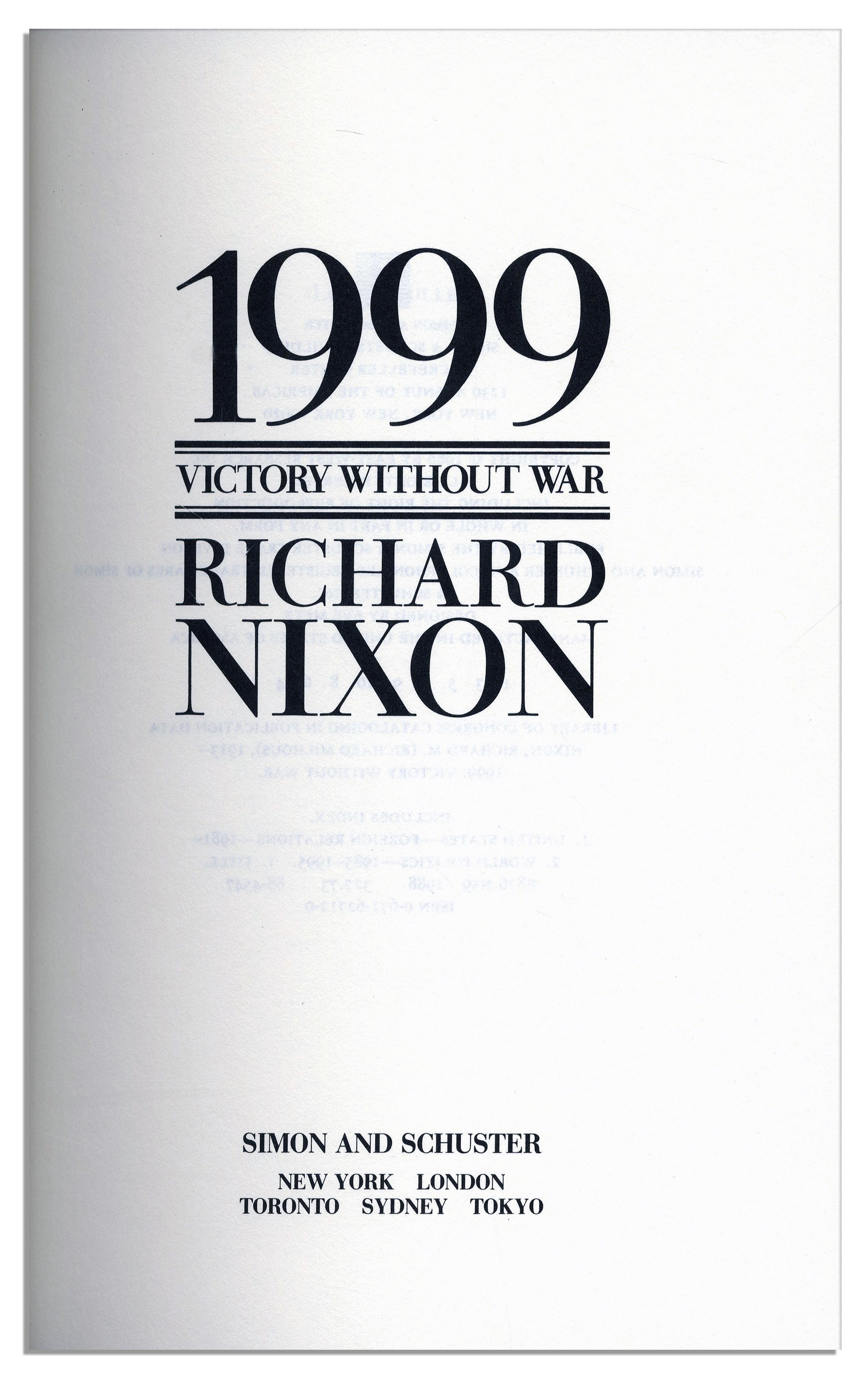 richard nixon research paper Abstract this article examines president richard nixon's gift of a portion of  his prepresidential  ing overseeing a similar gift of nixon's papers for tax year  19699  carlin has been an ally of the archival and research communities, but.