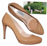 Ellen Barkin Screen-Worn Prada Pumps From Modern Family