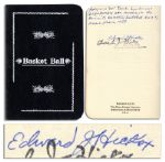 Basketball Hall of Famer, Edward Hickox Signed Rules for Basket Ball