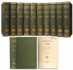 Abraham Lincoln: A History -- Complete 10 Volume Set in Unusually Nice Condition From 1890