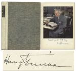 Harry Truman Signed First Edition of Mr. President