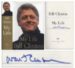 Bill Clinton Signed Copy of His Autobiography My Life -- First Printing With Error in the Final Paragraph