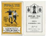 Very Rare Program From the 8th Wembley Final in 1930