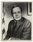 Excellent Neil Armstrong 8 x 10 Signed Photo -- Uninscribed