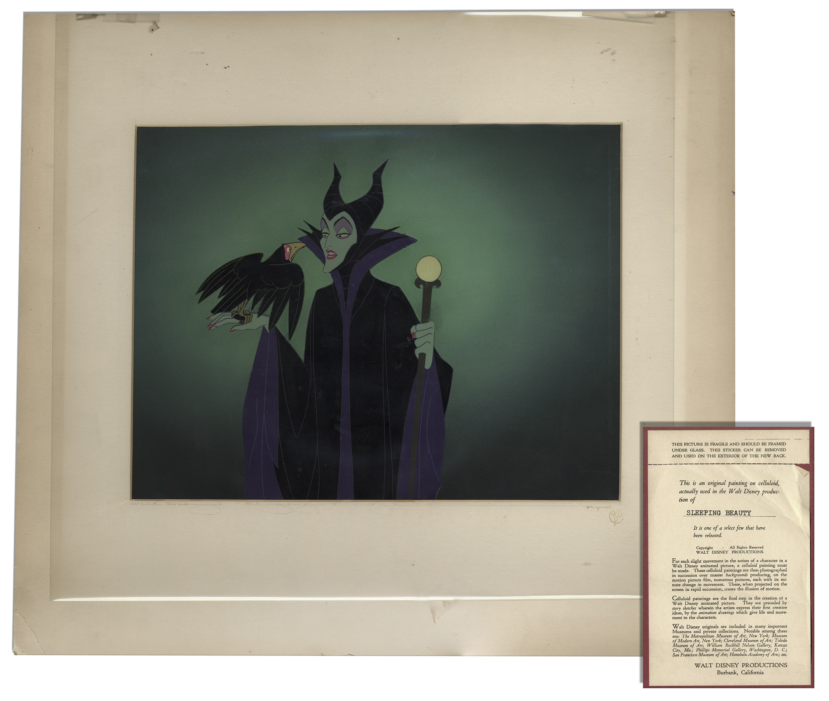 Sleeping Beauty Cel