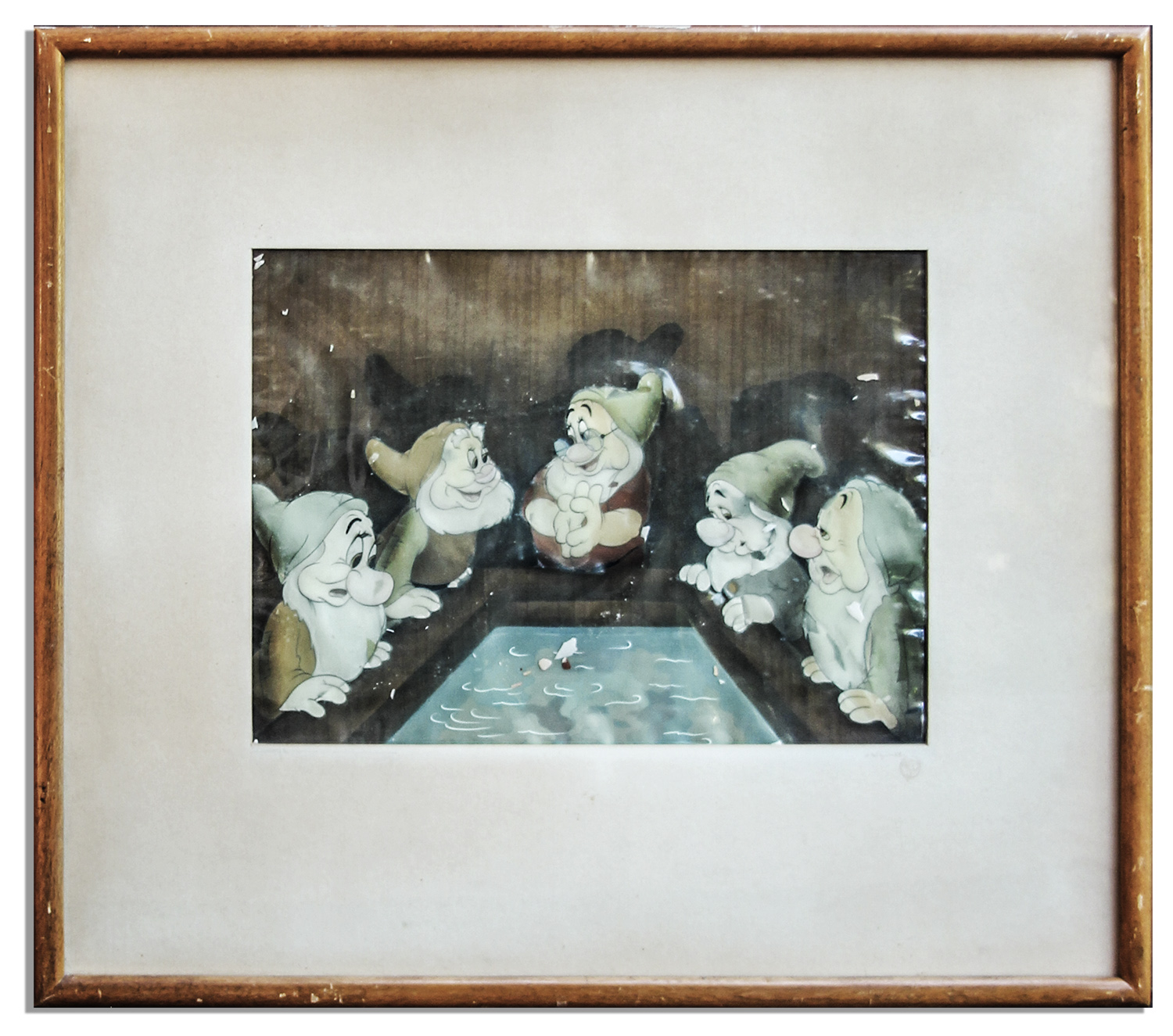 Snow White and the Seven Dwarfs cel