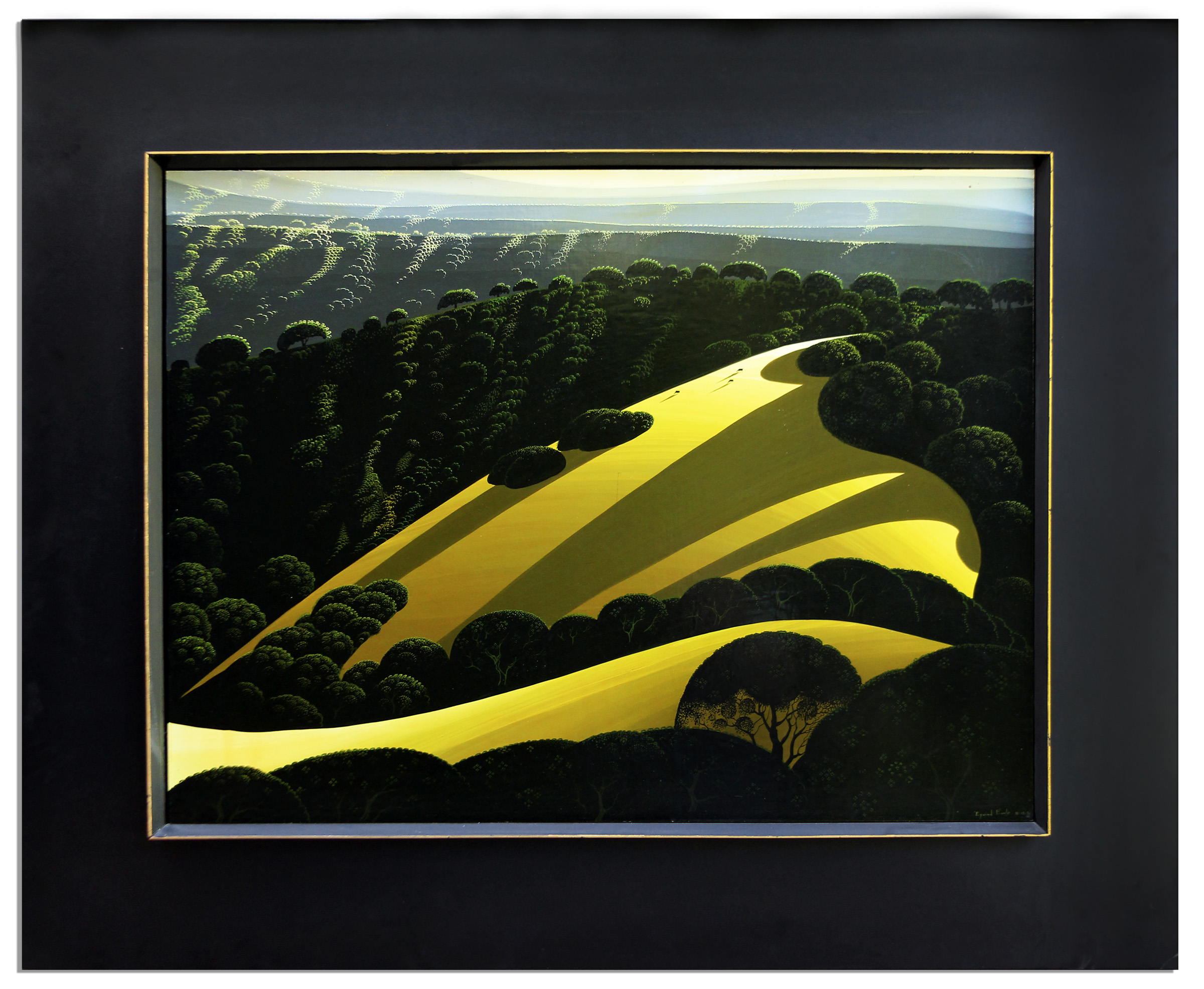 Eyvind Earle Art Eyvind Earle Original Oil Painting From Ray Bradbury's Personal Estate
