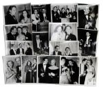 Ray Bradbury Personally Owned Photo Collection -- All Fifteen 8 x 10 Images Show Candid Shots of Oscar Winners