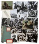 Ray Bradbury Personally Owned Lot of 33 Movie Stills From Moby Dick, The 1956 Version Starring Gregory Peck & Co-Written by Bradbury -- Each Photo Measures 8 x 10