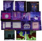Ray Bradbury Personally Owned Lot of 14 Art Slides by Joseph Mugnaini